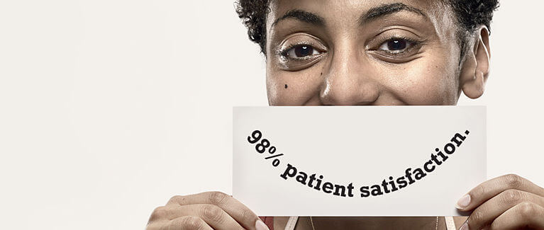 98% Patient Satisfaction