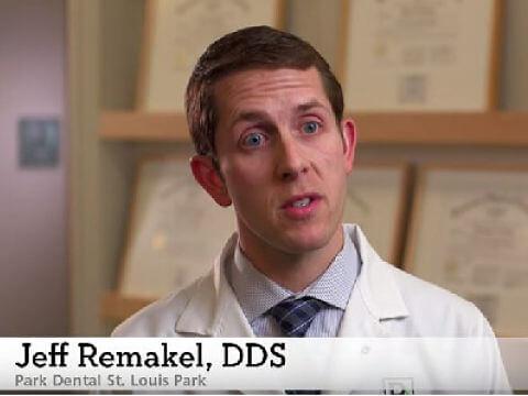 Jeff Remakel, DDS, discussing sleep apnea