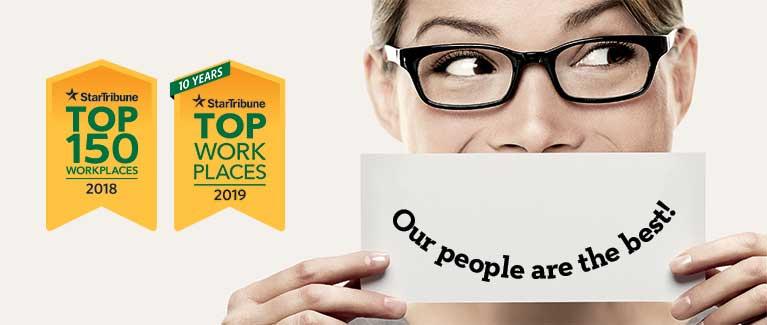 Park Dental Star Tribune Top Workplace 2019