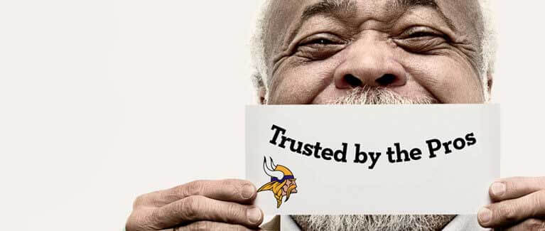 Trusted by the MN Vikings